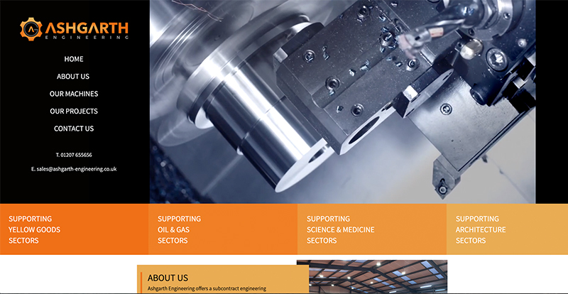 Ashgarth Engineering - Our Latest Website Launch!